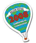 Hot Air Balloon Shape Magnets
